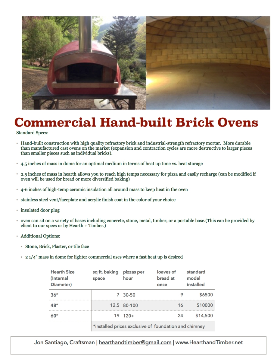 Commercial Oven Flyer